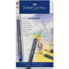 Astuccio matite colorate GOLDFABER Faber Castell - 3,3 mm - 114712 (conf.12) - Faber Castell