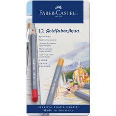 Astuccio matite colorate GOLDFABER AQUA Faber Castell - 3,3 mm - 114612 (conf.12) - Faber Castell