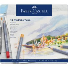 Astuccio matite colorate GOLDFABER AQUA Faber Castell - 3,3 mm - 114624 (conf.24) - Faber Castell
