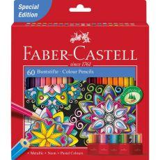 Astuccio matite colorate Eco Faber Castell - 3,0 mm - 111260 (conf.60) - Faber Castell