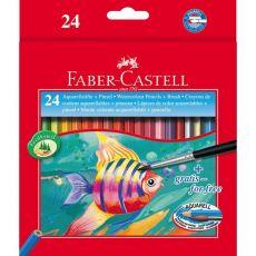 Astuccio matite acquerellabili Faber Castell - 3,3 mm - 114425 (conf.24) - Faber Castell