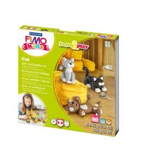 FIMO® kids scatola gioco form&play Staedtler - Gattini - 8034 16 LY - Staedtler
