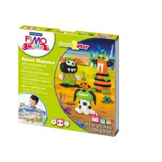 FIMO® kids scatola gioco form&play Staedtler - Mostri spaziali - 8034 17 LY - Staedtler