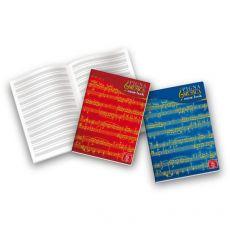 Album pentagrammi musicali Pigna - 21x29,7 cm - 12 pentagrammi - 0408197 (conf.10) - Pigna