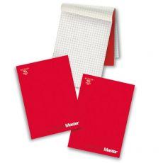 Blocchi collati Master Pigna - A4 - bianco – 90ff - 0208521BI (conf.5) - Pigna