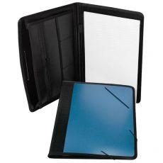 Cartella portablocco in PPL Orna - 33x25x1,4 cm - blu - 0020SHO4000 - Orna