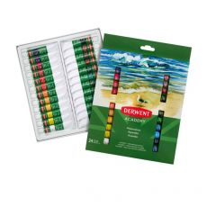 Pitture acquerellabili Derwent Academy - 12 ml - assortiti - 2302404 (conf.12) - Derwent