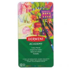 Matite colorate Derwent Academy - assortiti - 2301937 (conf.12) - Derwent