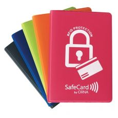 Custodia Safecard Color a libro Orna - 6,5x10 cm - assortiti - 0133 GDO 0000 - Orna