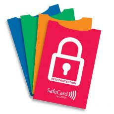 Custodia Safecard Color in cartoncino Orna - 5,7x8,7 cm - assortiti - 0106 GDO 0000 - Orna