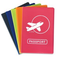 Custodia per passaporto Color Orna - 9,5x13,5 cm - assortiti - 0136 GDO 0000 - Orna