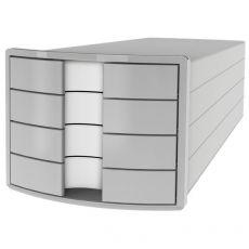 Cassettiere Impuls HAN - 28x36,7x23,5 cm - 4 cassetti - grigio - 1012-11 - HAN