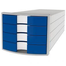 Cassettiere Impuls HAN - 28x36,7x23,5 cm - 4  cassetti - blu - 1012-14 - HAN