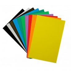 Fommy / Gomma Crepla - Formato A4 - 10 Colori Assortiti - Renkalik