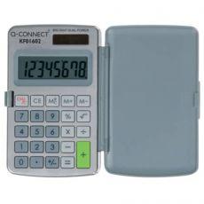 Calcolatrice solare da tasca Q-Connect 8 cifre KF01602 - Q-Connect