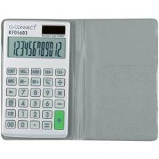 Calcolatrice solare da tasca Q-Connect 12 cifre KF01603 - Q-Connect