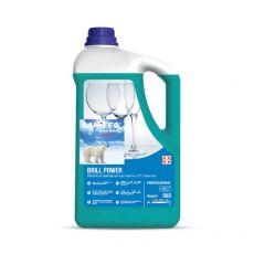 Brillantante per lavastoviglie professionali Sanitec - 5 Kg - 1130 - Sanitec