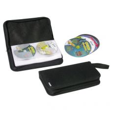 Custodia per CD/DVD Exponent World - 48 CD/DVD - nero - 56011 - Exponent World