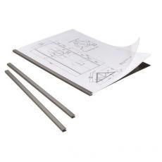 Cartelline in PPL per rilegatura DURAGRIP Durable -  A4 - 5 mm - nero - 2942-01 (conf.5) - Durable