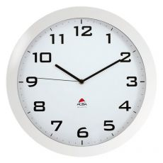 Orologio da parete Big Clock Alba - Ø 38 cm - bianco - HORISSIMO BC - Alba