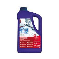 Detergente igienizzante cloro attivo non schiumogeno per superfici dure - 5Kg - 1173S - Sanitec