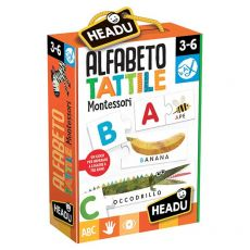 Alfabeto Tattile Montessori - Headu