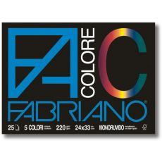 Blocco Disegno Fabriano Colore - 33 x 48 - Monoruvido - FABRIANO