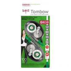 Correttore a nastro Mono Tombow - 4,2 mm - 10 m. - PCT-YT4-2P (conf.2) - Tombow