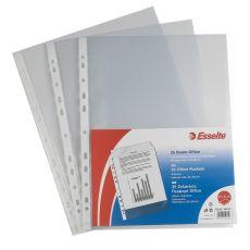 Buste a foratura universale Copy Safe Esselte - Deluxe 22x30 cm goffrata - 392597600 (conf.25) - Esselte