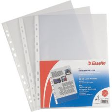 Buste a foratura universale Copy Safe Esselte - Office 22x30 cm - liscia lucida - 395097000 (conf.50) - Esselte