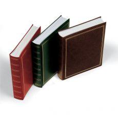 Album per foto Lebez - copertina marrone-blu-verde-rosso - similpelle - 50 fogli -30x33cm-0378-ASS - Lebez
