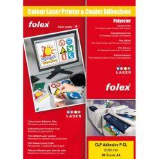 Film adesivo per stampanti Folex - A4 - bianco lucido- 2999W.050.44100 (conf.50) - Folex