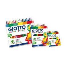 Giotto Turbo Color - Astuccio 6 pz. - FILA
